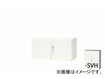 ナイキ/NAIKI リンカー/LINKER 両開き書庫 シルバー/ホワイト CW-0905K-SVH 899×450×450mm