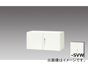 ナイキ/NAIKI リンカー/LINKER 両開き書庫 シルバー/クリアホワイト CWS-0905K-SVW 899×400×450mm