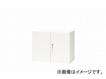 ナイキ/NAIKI リンカー/LINKER 両開き書庫 ホワイト CWS-0907K-HH 899×400×700mm
