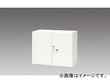 ナイキ/NAIKI リンカー/LINKER 両開き書庫 クリアホワイト CW-0907KD-WW 899×450×700mm