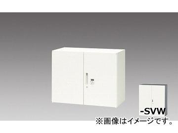 ナイキ/NAIKI リンカー/LINKER 両開き書庫 シルバー/クリアホワイト CWS-0907KD-SVW 899×400×700mm