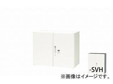 ナイキ/NAIKI リンカー/LINKER 両開き書庫 ダイヤル錠 シルバー/ホワイト CWS-0907KD-SVH 899×400×700mm