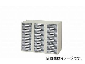 ナイキ/NAIKI ネオス/NEOS トレー書庫 下置用・浅型A4・3列17段 ウォームホワイト NW-0907ALS-AW 899×450×700mm