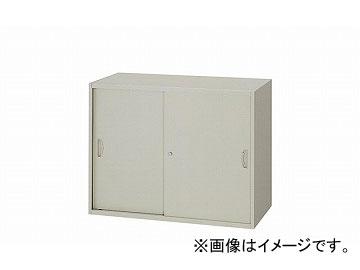 ナイキ/NAIKI ネオス/NEOS スチール引違い書庫 ウォームホワイト NW-0807H-AW 800×450×700mm
