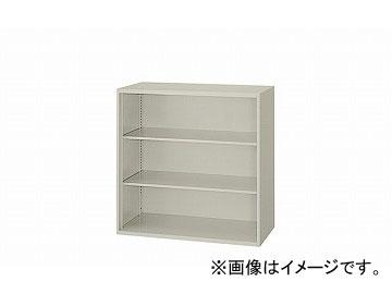 ナイキ/NAIKI ネオス/NEOS オープン書庫 ウォームホワイト NW-0809N-AW 800×450×900mm