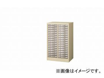 ナイキ/NAIKI パンフレットケース A4浅型2列18段 STD218S-A4 527×400×880mm