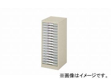 ナイキ/NAIKI パンフレットケース A4浅型1列16段 LCA116D-A4 277×350×700mm