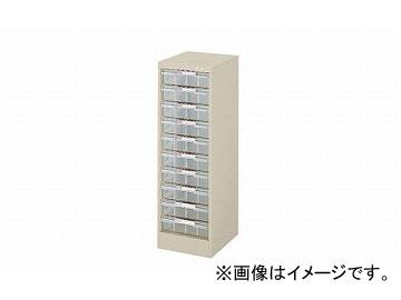 ナイキ/NAIKI パンフレットケース A4深型1列10段 LCB110D-A4 277×350×880mm