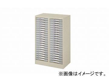 ナイキ/NAIKI パンフレットケース A4浅型2列20段 LCB220D-A4 551×350×880mm