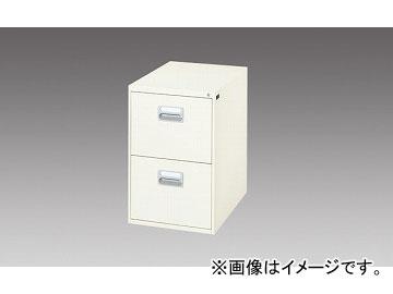 ナイキ/NAIKI ファイリングキャビネット 1列-2段 ライトグレー B4-276-LG 455×620×700mm