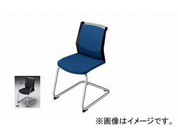 ナイキ/NAIKI 会議用チェアー キャンチレバー脚/背パッドタイプ ブラック E297F-BK 463×590×822mm