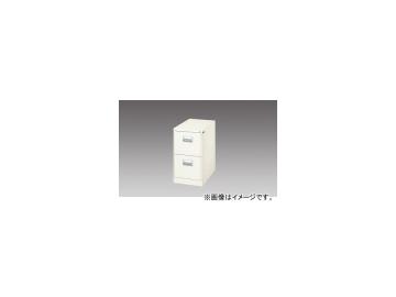 ナイキ/NAIKI ファイリングキャビネット 1列-2段 ライトグレー A4-276-LG 387×620×700mm