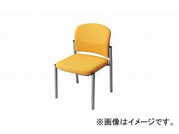 ナイキ/NAIKI 会議用チェアー イエロー E248F-YE 510×535×775mm