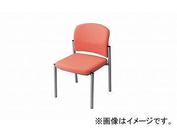 ナイキ/NAIKI 会議用チェアー ローズピンク E248F-RPI 510×535×775mm