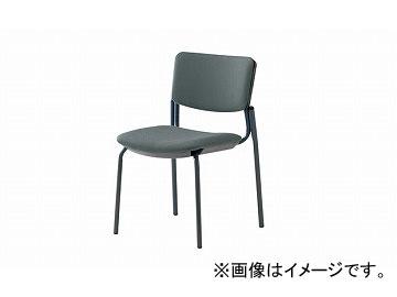 ナイキ/NAIKI ネオス/NEOS 会議用チェアー 4本脚タイプ グレー E217FB-GL 485×545×765mm