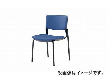 ナイキ/NAIKI ネオス/NEOS 会議用チェアー 4本脚タイプ ライトブルー E217B-LBL 485×545×765mm