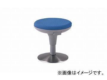 ナイキ/NAIKI 丸イス 布地 ライトブルー E719F-LBL 400×400×400~490mm