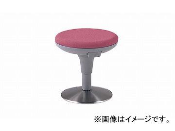 ナイキ/NAIKI 丸イス 布地 ライトワイン E719F-LW 400×400×400~490mm