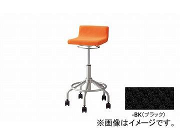 ナイキ/NAIKI ハイチェアー キャスター付 オレンジ E267FC-OR