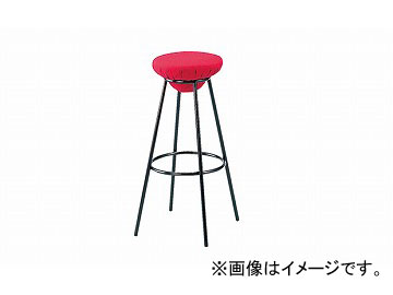 ナイキ/NAIKI カウンターチェアー レッド E252F-RE 340×340×700mm