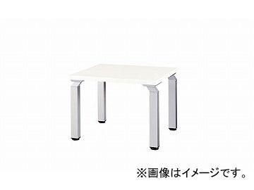 ナイキ/NAIKI コーナーテーブル 450mm ホワイト WKD066-SVH 600×600×450mm