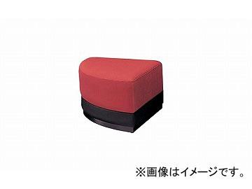ナイキ/NAIKI ロビーシリーズ100 コーナースツール レッド RC1001C-RE 690×690×400mm