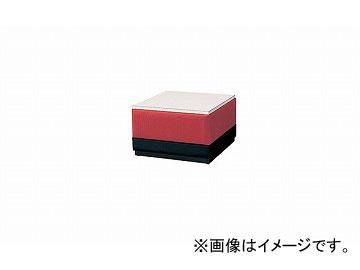 ナイキ/NAIKI ロビーシリーズ100 サイドテーブル レッド RT100-RE 660×690×400mm