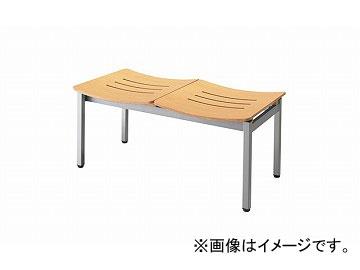 ナイキ/NAIKI ロビーシリーズ104 ロビーチェアー 4人掛 ナチュラル RC1042-NA 985×490×430mm