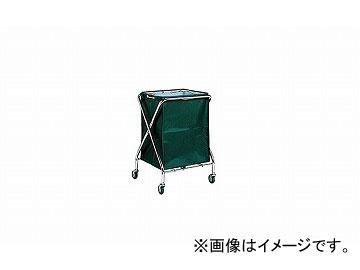 ナイキ/NAIKI ダストカート 小 グリーン DC100-GR 557×506×813mm