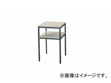 ナイキ/NAIKI 電話台 ライトグレー TS86-LGL 450×450×700mm