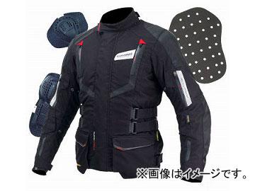 2輪 コミネ/KOMINE JK-572 フルイヤージャケット ガリア 07-572 ブラック/レッド サイズ:XS,S,M,L,XL他