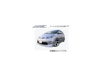 AMS/エーエムエス LUXEST luxury & exective style マフラーカッター(OVAL-D) エスティマ ハイブリッド 後期 AHR20W 2008.12~