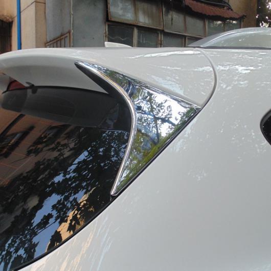 AL 車用メッキパーツ カーアクセサリー マツダ CX-5ステッカー ABS クロームリアウィンドウトリムにテールスパンコールトライアングルカースタイリング2013 2015 2016 AL-AA-0866
