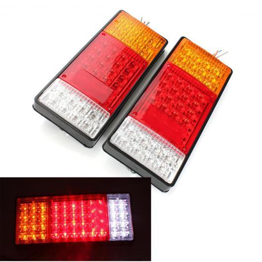 AL 車用メッキパーツ 2 × 44 LED インジケータテールライトUTE ボート トレーラー トラック バン キャンピングカー 防水キット AL-AA-0915