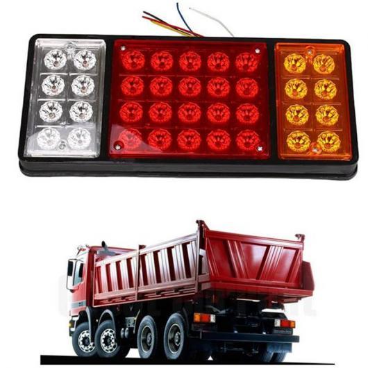AL 車用メッキパーツ 24ボルト36 LED リアウインカー トラック トレーラー ストップリア テール ライト インジケータランプキャラ バン ローリー カー 外部 AL-AA-0925