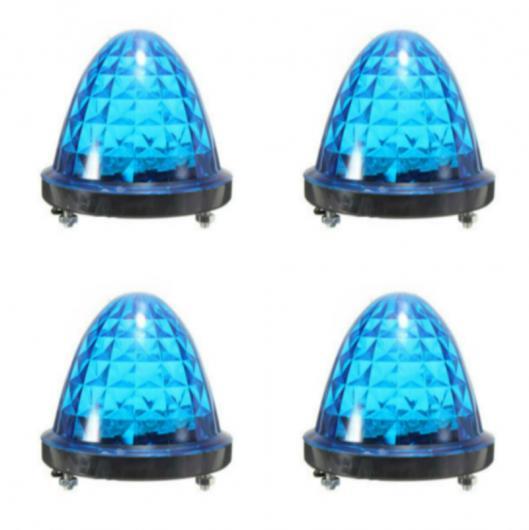 AL 車用メッキパーツ 10X トラック LED 12ボルト24ボルトサイドマーカー ライト クリアランス テール ランプ外部 カー トレーラー リア キャラバン パーキング AL-AA-0986