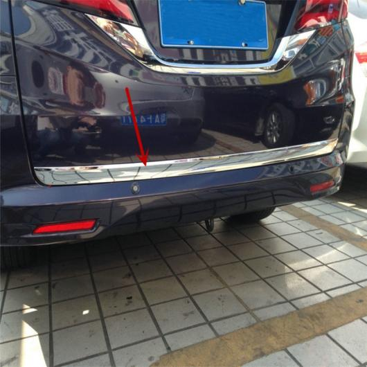 AL 車用メッキパーツ カー オートカバースタイリング ホンダオデッセイ2015 2016 2017 ABS クロームリアテールトランクBOOT ロワー アクセサリーバー モールディング トリム AL-AA-1009