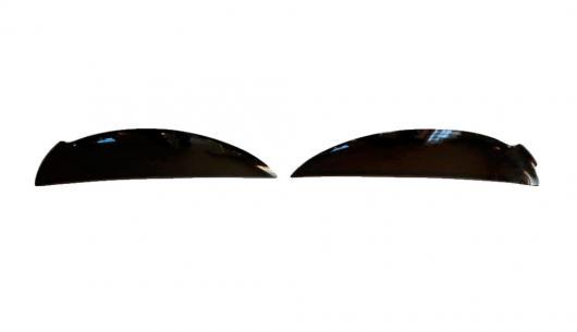 AL 車用メッキパーツ アイブロウ スバルインプレッサ2000-2007カバートリム モールディング ライト外装 デコレーション フロントヘッドライト カー スタイリング AL-AA-1095