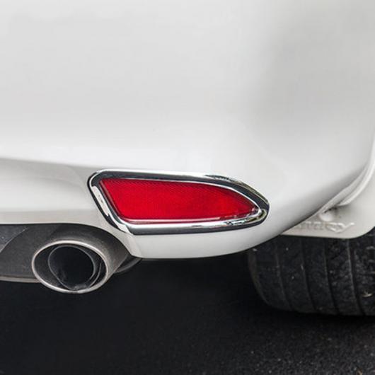 AL 車用メッキパーツ カーアクセサリー トヨタ カムリ 2015 2016 ABS クロームテールリア フォグ ライトランプカバートリム2ピース AL-AA-1153