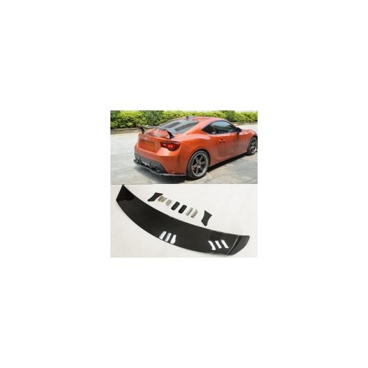 AL 車用メッキパーツ カースタイリングカーボンファイバーリアスポイラーテールトランク ウィング トヨタ GT86 FT86スバルBRZ 2013 2014 2015 AL-AA-1186