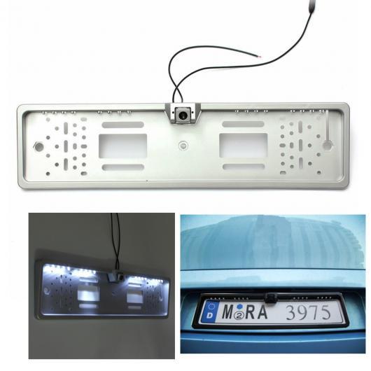 AL カー用品カメラ カー 16 LED ナンバープレートフレームライトリアビューカメラバックアップ パーキング 反転170度広視野角 AL-AA-1582