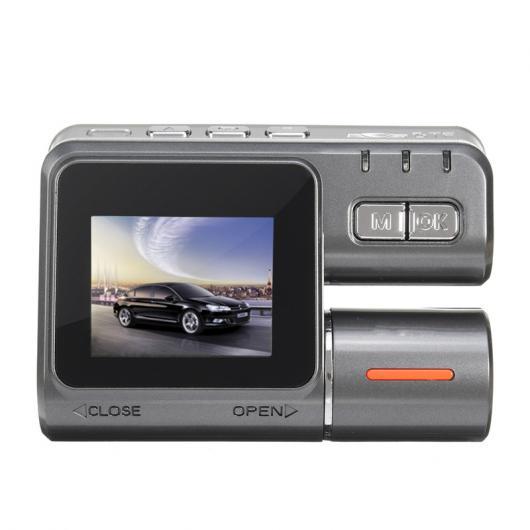 AL カー用品カメラ 1.8″″ FHD 1080P 90度 カー DVR レコーダー 車載カメラ IRナイトビジョンビデオGPSビデオ AL-AA-1726