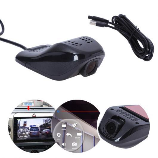 AL カー用品カメラ AndroidシステムUSB カー DVRカメラ オート ドライビング ビデオ レコーダー 1080P 高精細6層 ガラス レンズ 車載カメラ ビデオカメラ AL-AA-1734
