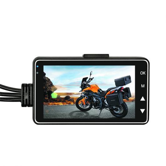 AL カー用品カメラ オートバイ カメラDVRモーター 車載カメラ 特殊デュアルトラックフロントリア レコーダー バイクエレクトロニクス AL-AA-1751