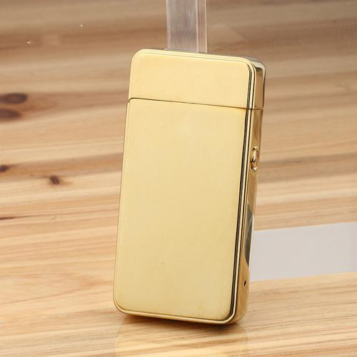 AL USBライター 強化 ダブルアークスタイル USBライター 電子タバコデュアルアーク充電式シガーライター 選べる3カラー ブラック,ブルー,ゴールド AL-AA-2004