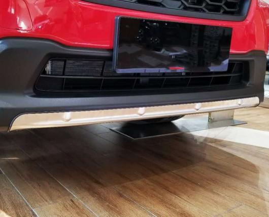 AL 車用メッキパーツ スバル XV GT3 GT7 2017 2018 ステンレス スチール フロント リア バンパースキッド ガードプレート カバー フレーム 2ピース AL-AA-2731