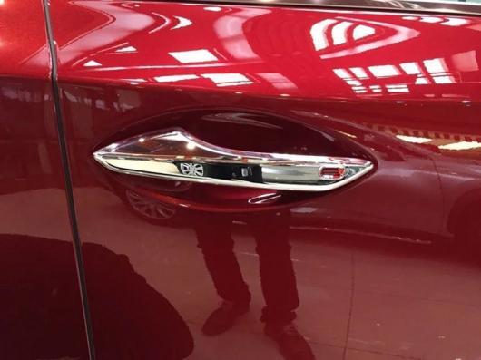 AL 車用メッキパーツ ABS クローム サイド ドア ハンドル キャッチ カバー プロテクター4ピース レクサス NX NX200 NX200T NX300h 2015 2016 2017 AL-AA-2809