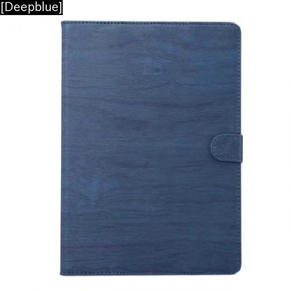 AL iPadケース カバー iPad 9.7 2017 PUレザー フリップ 保護 カード ホルダー 衝撃吸収 タブレット [Deepblue] AL-AA-3528