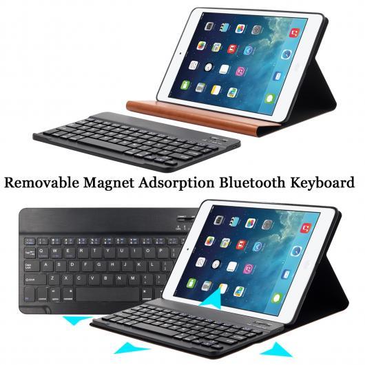 AL iPadケース PUレザー キーボード iPad 9.7 2017 Air 1/2 シリコン ソフト カバー 2018 選べる2バリエーション Black Keyboard /White Keyboard AL-AA-3698