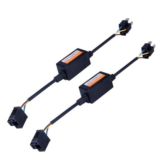 AL キャンセラー 2ピース ロット H4 LED CAN-BUS デコーダ エラーフリーアンチフリッカー抵抗 ヘッドライトキット AL-AA-5784